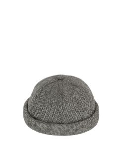 Béton Ciré | Handmade Wool Herringbone Sailor Hat