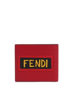 Fendi | Кожаный Кошелёк С Нашивкой