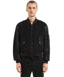 Antonio Marras | Куртка-Бомбер Из Нейлона И Бархата
