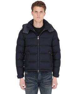 Moncler | Куртка Montgenevre Из Лёгкой Фланели