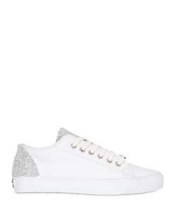 BLACK DIONISO | 20mm Embellished Leather Sneakers