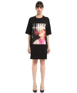 Kenzo | Платье Из Стретч Джерси С Принтом Antonio Lopez