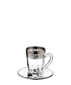 MARIO CIONI | Set Of 6 Crystal Espresso Cups