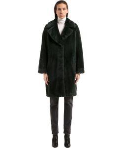 STAND | Пальто Cocoon Camille Из Искусственного Меха