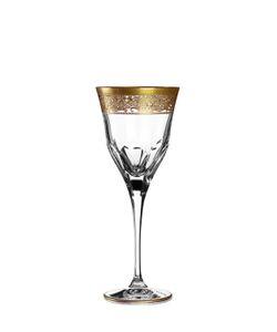 MARIO CIONI | Set Of 6 Crystal Wine Glasses