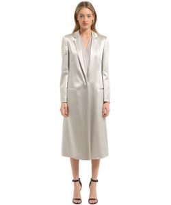 Calvin Klein Collection | Пальто Из Лёгкого Атласа