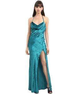 ATTICO   Бархатное Платье Letizia