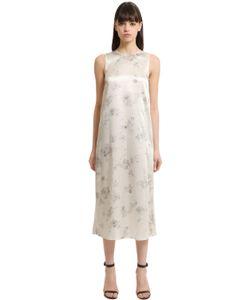 Calvin Klein Collection | Шёлковое Платье С Цветочным Принтом