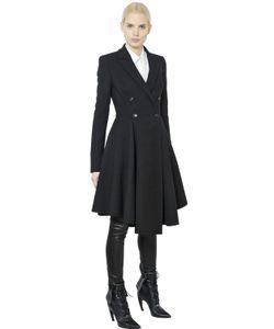 Givenchy | Пальто Из Мягкого Шерстяного Стрейч Твила