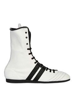 LEONE 1947   Кожаные Ботинки Для Бокса Ручной Работы