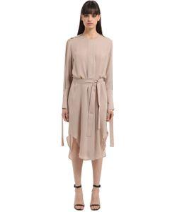 Calvin Klein Collection | Платье Из Двойного Жоржета