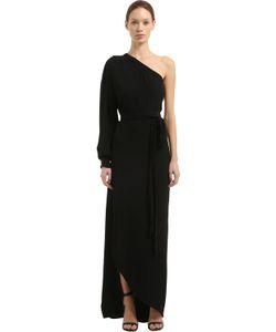 ROSETTA GETTY   Платье Из Крепа Сабле