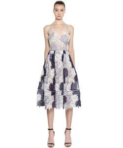 SELF-PORTRAIT | Кружевное Платье Camellias