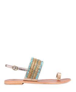 PERCENT | 10mm Feronia Leather Sandals