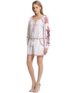 CC BY CAMILLA CAPPELLI | Платье Из Лёгкого Льна С Вышивкой