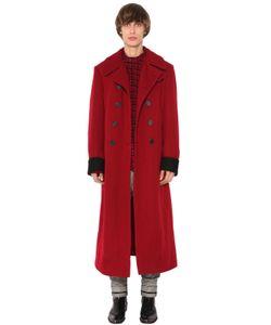 Haider Ackermann | Двубортное Пальто Из Шерсти