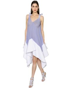 Antonio Berardi | Striped Muslin Cotton Poplin Dress