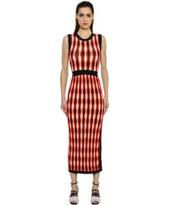 SportMax | Stretch Jacquard Knit Dress