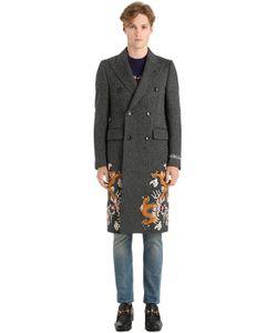 Gucci | Пальто С Вышивкой Дракон