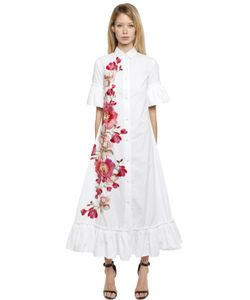 Ainea | Hand-Embroide Cotton Shirt Dress