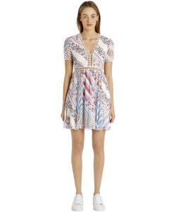 Tommy Hilfiger | Gigi Hadid Printed Silk Chiffon Dress
