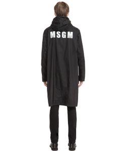 MSGM | Куртка С Принтом Логотипа