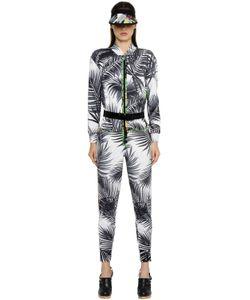 Max Mara | Palms Printed Silk Twill Jumpsuit