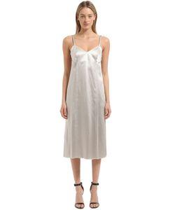 Calvin Klein Collection | Атласное Платье