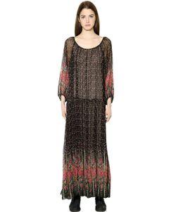 Mes Demoiselles | Платье Из Вискозного Шифона С Цветочным Принтом