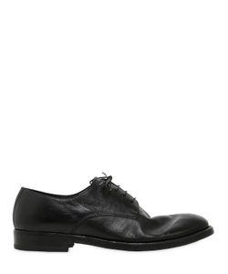 Seboy'S | Ботинки Из Мытой Кожи На Шнурках