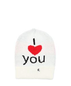 Raf Simons | Шапка Из Шерстяного Жаккарда I Love You
