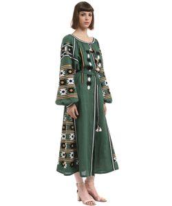 Vita Kin | Льняное Платье С Вышивкой New Mexico