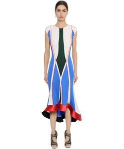 ESTEBAN CORTAZAR | Geometric Thick Jersey Dress