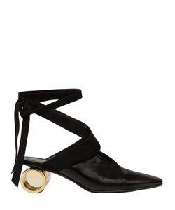 J.W. Anderson | Кожаные Туфли Alabama С Лентой 60mm