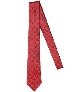 Vivienne Westwood | Галстук Из Шёлкового Жаккарда С Рисунком Orb 7cm