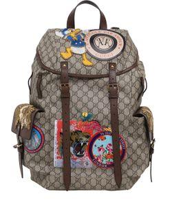 Gucci | Рюкзак С Фирменным Рисунком Gg Supreme