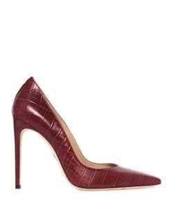 Dsquared2 | Кожаные Туфли С Крокодиловым Тиснением 110mm