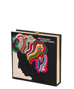 Olympia Le-Tan | Клатч С Вышивкой Milton Glaser