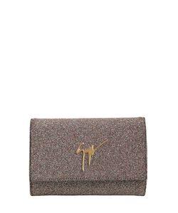 Giuseppe Zanotti Design | Клатч Из Ткани С Блёстками И Логотипом