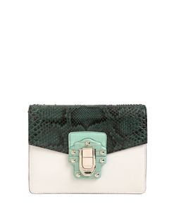Dolce & Gabbana | Сумка Lucia Из Кожи И Кожи Питона