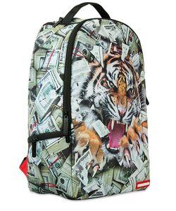 SPRAYGROUND   Рюкзак С Принтом Tiger Money