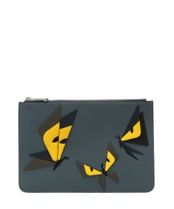 Fendi | Кожаный Клатч Monster Butterfly