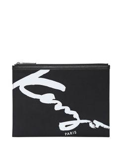 Kenzo | Нейлоновый Клатч С Логотипом