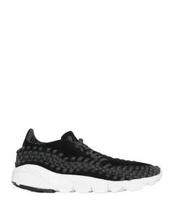 Nike | Air Footscape Suede Woven Sneakers