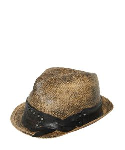 Move | Соломенная Шляпа С Винтажным Эффектом