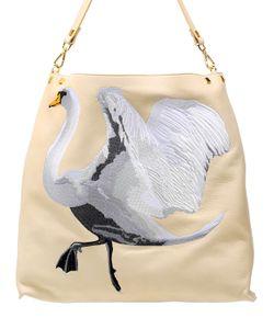 GIANCARLO PETRIGLIA | Кожаная Сумка Лебедь