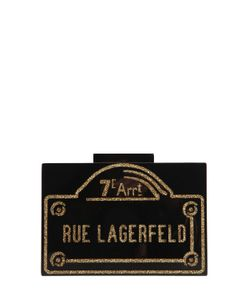 Karl Lagerfeld | Клатч Rue Lagerfeld Из Пвх