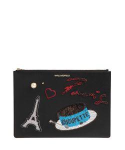 Karl Lagerfeld | Клатч K/Paris Из Искусственной Сафьяновой Кожи