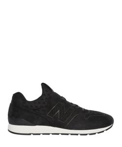 New Balance | 996 Perforated Nubuck Sneakers