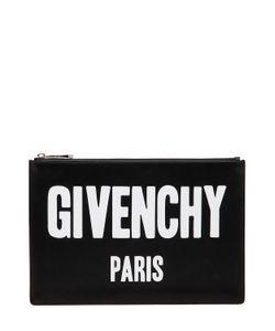 Givenchy | Кожаный Клатч Iconic С Принтом